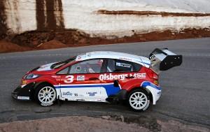 (Marcus Gronholm) за рулем Ford Fiesta WRC