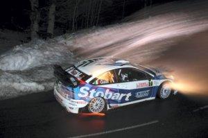 Ford Focus WRC 07s команды Stobart на ралли Испании 2008 года