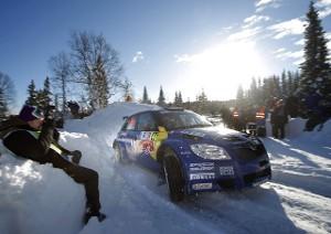 Шведский гонщик Патрик Санделл (Patrik Sandell)