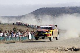 Петтер Солберг на ралли Мексики 2010 года, Citroen C4 WRC