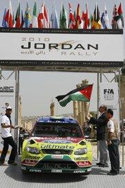старт ралли Иордании 2010 года