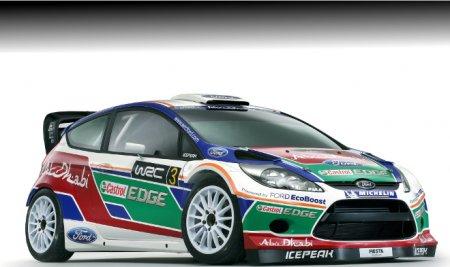 BP Ford Abu Dhabi World Rally Team