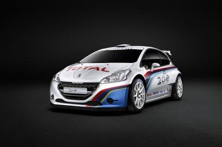 Peugeot представил свой новый 208 R5