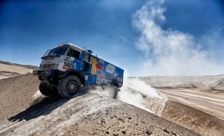 Спортивные грузовики КамАЗ для ралли «Дакар»