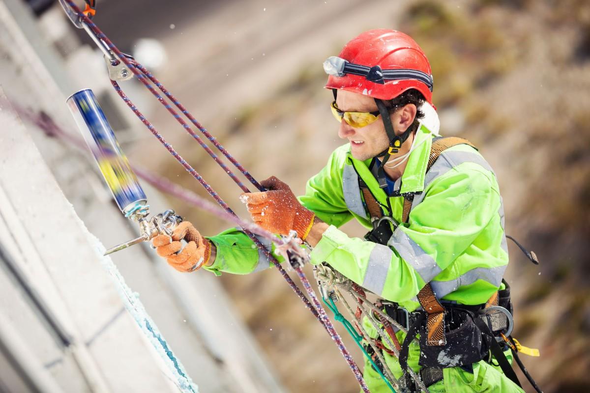 Услуги альпинистов промышленных цена