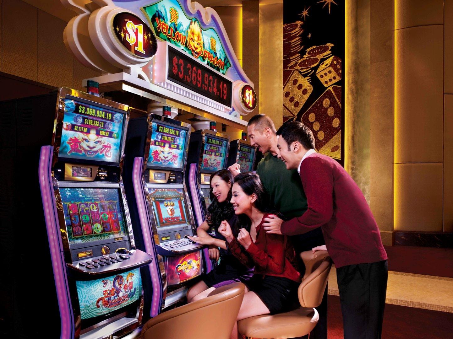 Casino and slot machine games