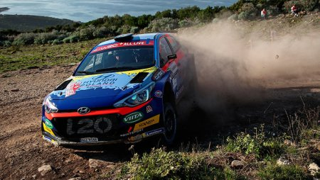 Rally Italia Sardegna, WRC-2 и WRC-3: пересчет вариантов