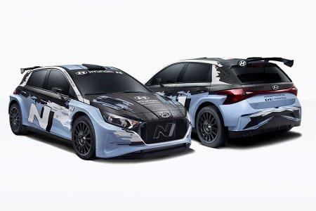 Компания Hyundai представила новый раллийный Hyundai i20 N Rally2